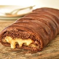 צמת שמרים שוקולד במילוי בלונדי