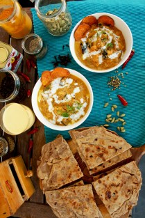 Roasted Eggplant and Sweet Potato Indian Curry