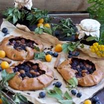 Gluten-Free Blueberry Galette