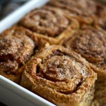 Healthy Cinnamon Sweet Potato Rolls