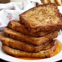 Healthier Brioche French Toast
