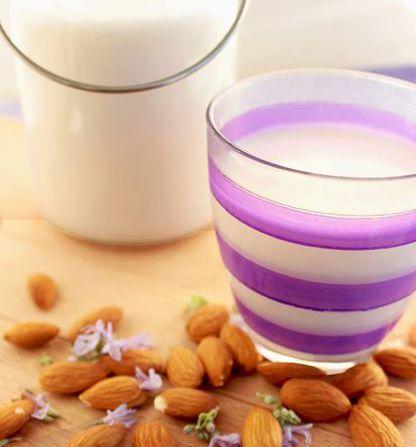 Домашнее миндальное молоко