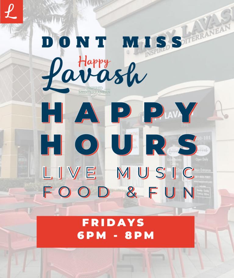 Happy Hours @ Happy Lavash