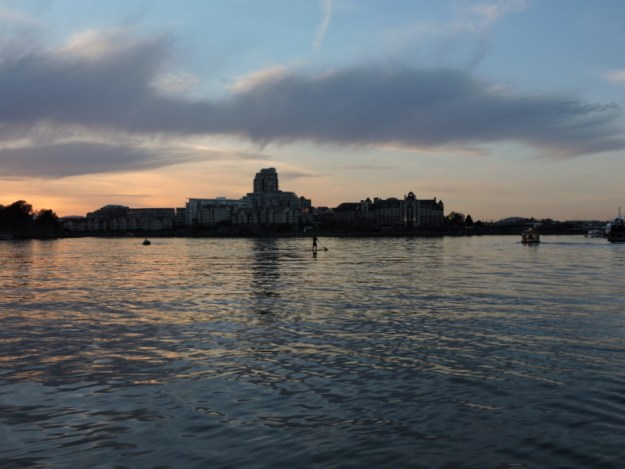 Inner Harbour sunset