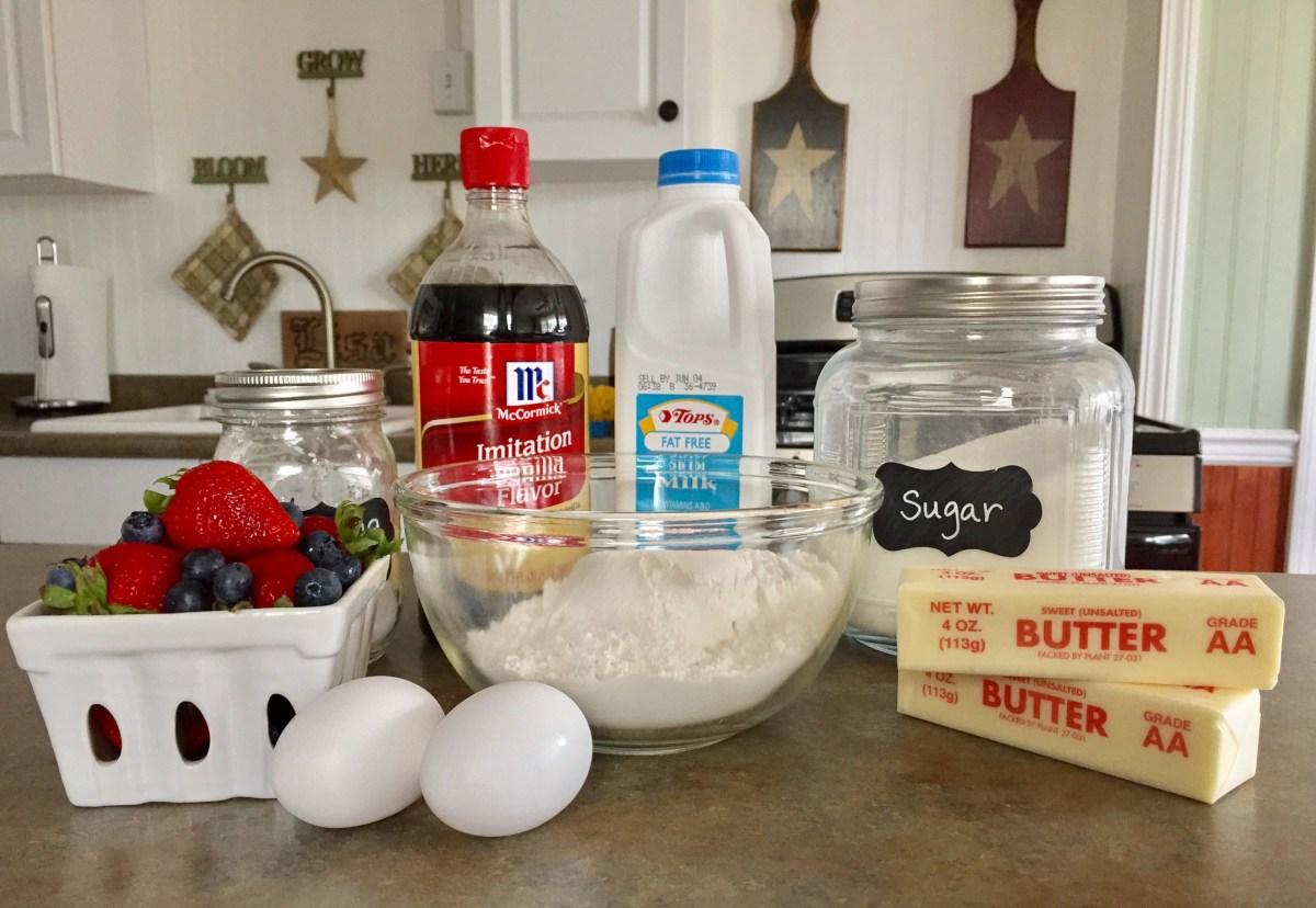 Berry Delicious Belgian Waffles ingredients list