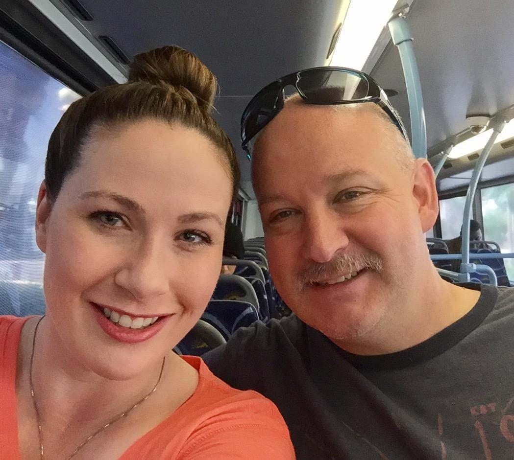 The Deuce double decker bus Las Vegas #thedeuce #lasvegas #vegas #vegastourism #lasvegasbus