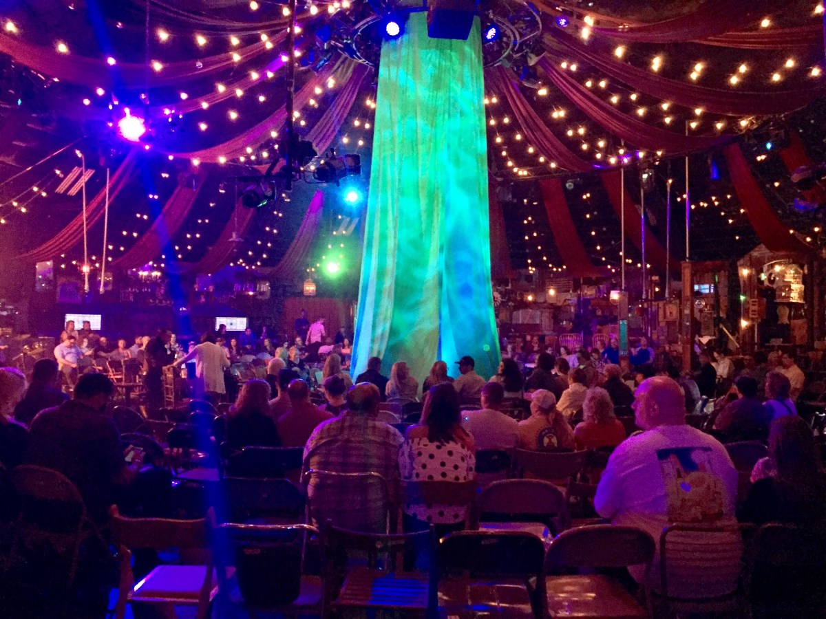 Inside the circus tent at Absinthe #absinthe #lasvegas #vegas #vegasshows #vegasentertainment
