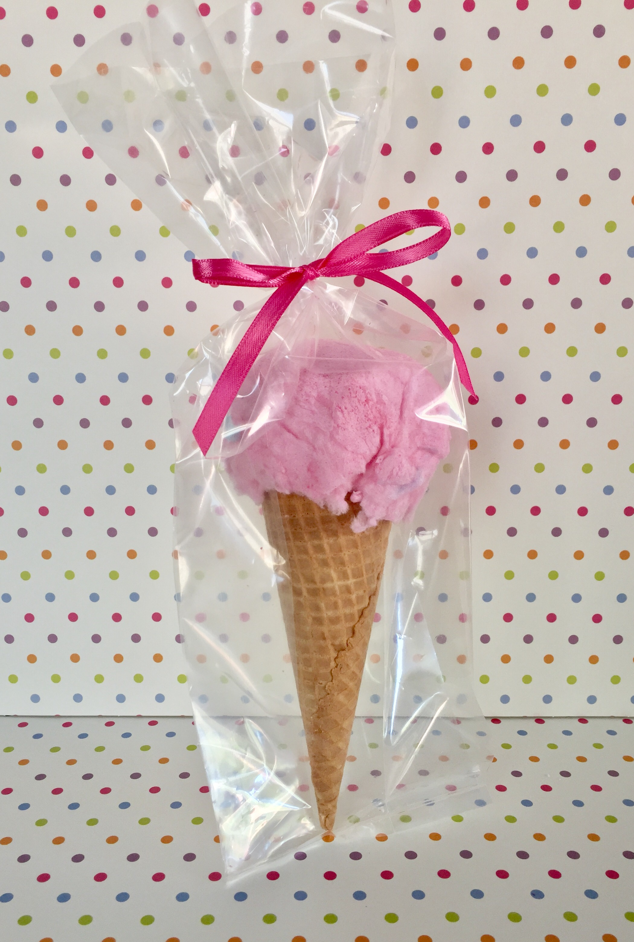 Cotton Candy Ice CreamCones