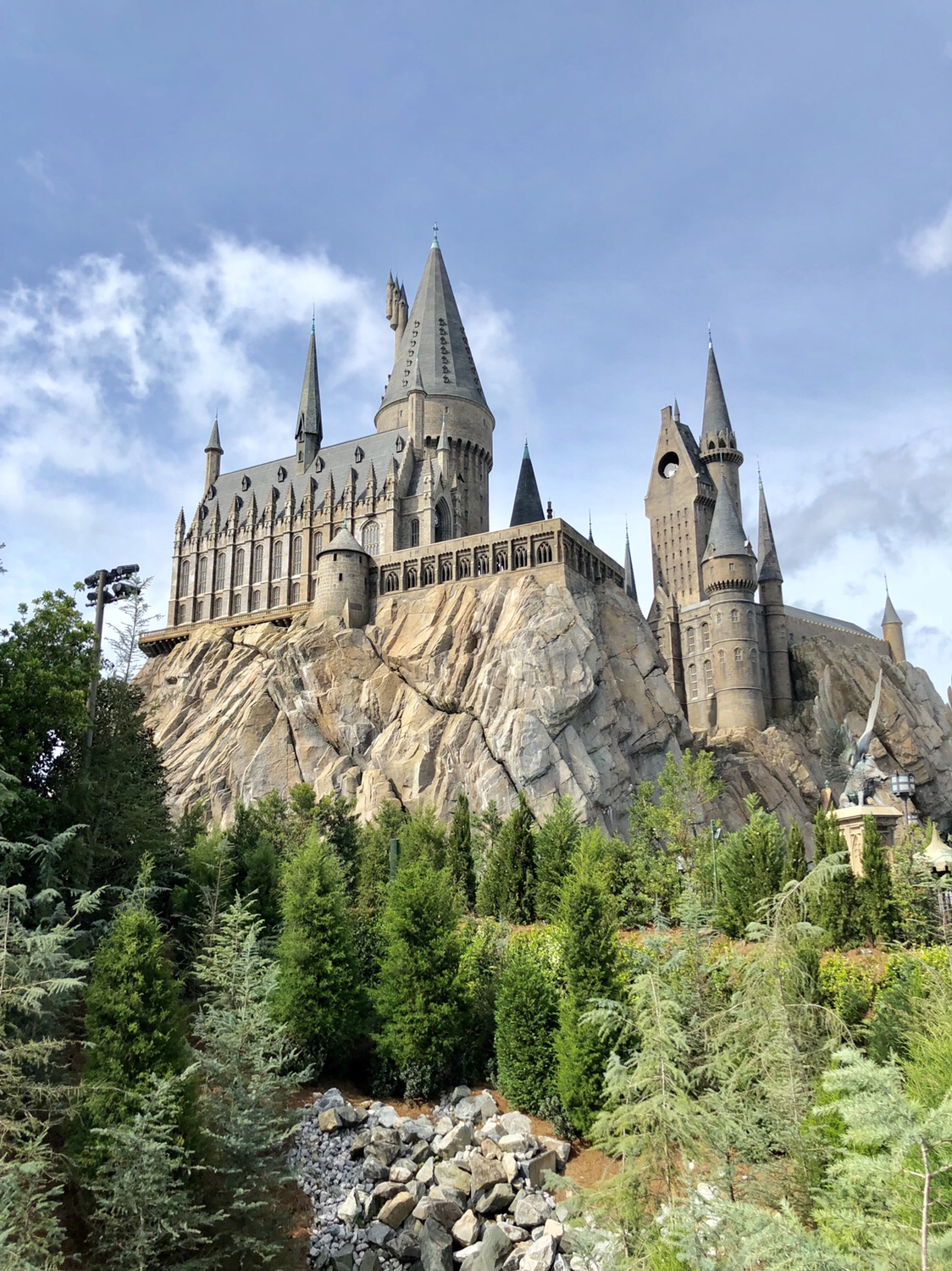 Harry Potter and the Forbidden Journey ride inside Hogwart's #hogwarts #harrypotter #harrypotterride #wizardingworldofharrypotter #universalorlando