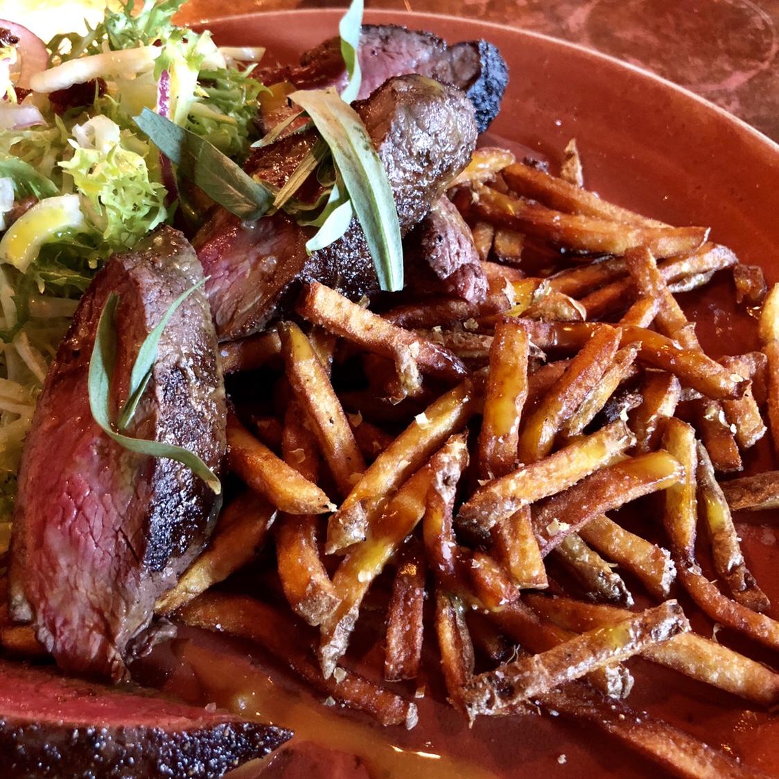 8 oz Culotte Steak Frites | Buffalo Proper #buffaloproper #buffalony #buffalo #westernny #buffaloeats