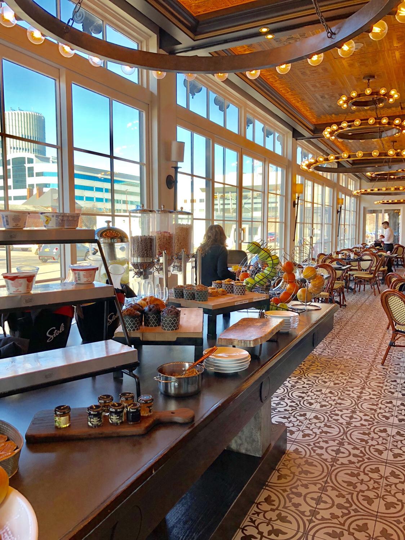 Continental Breakfast at Chez Ami Restaurant #chezami #curtisshotel #buffalony #buffalo #buffaloeats