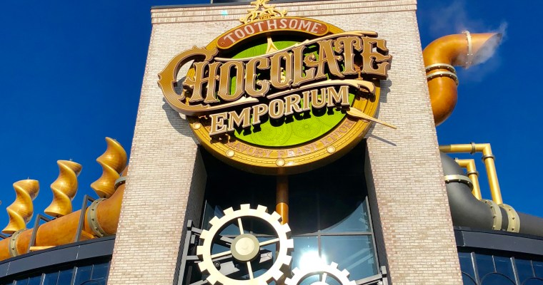 Top Ten Things to Eat at Toothsome Chocolate Emporium