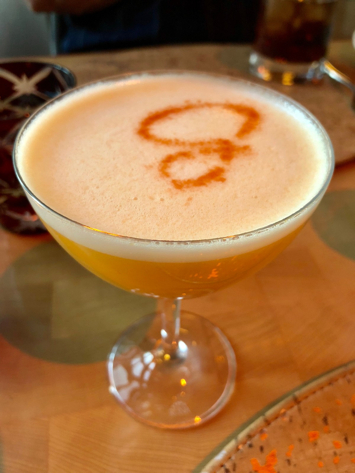 The GIada Signature Cocktail | The Cromwell #giadarestaurant #giadatrattoria #thecromwell #lasvegas #bestdrinksinlasvegas