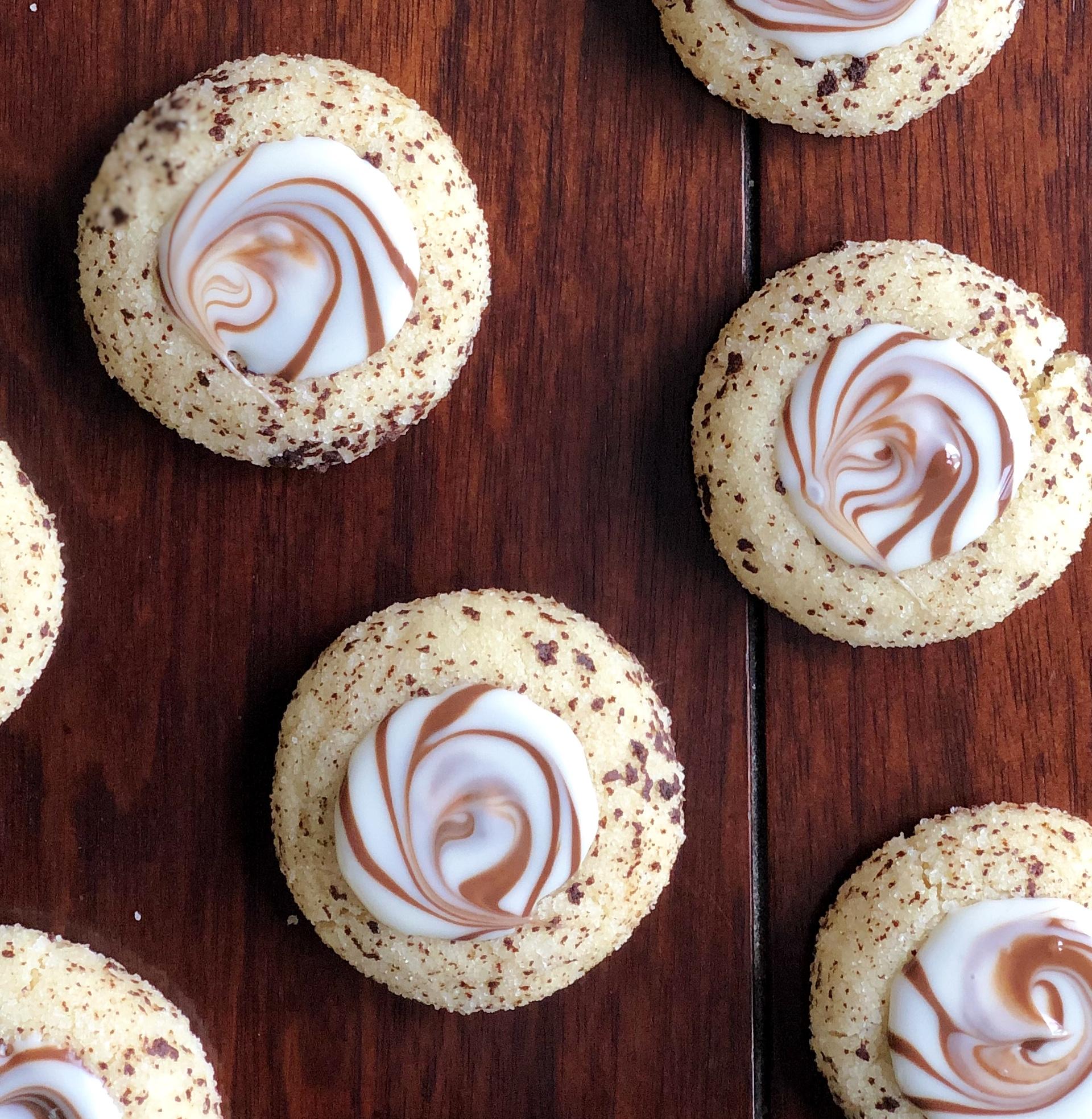 Cappuccino Swirl Cookies