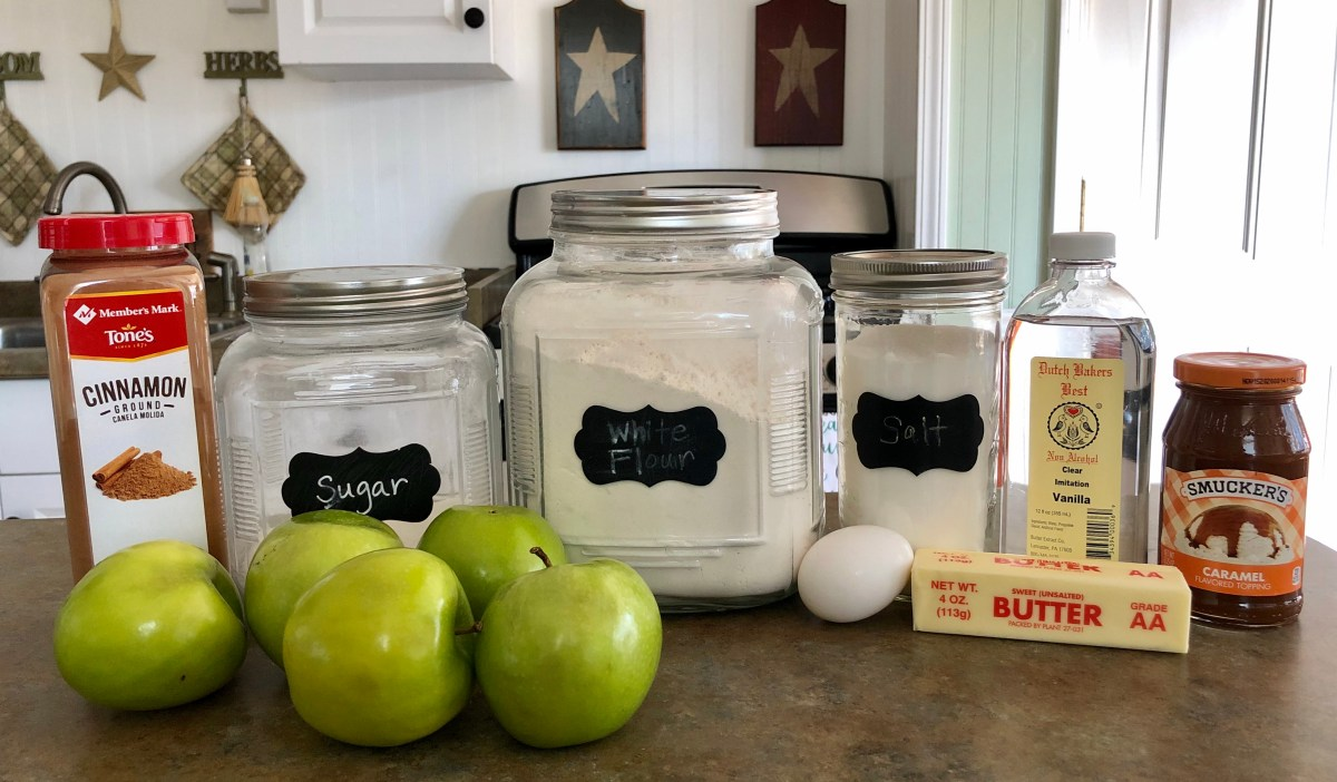 Rustic Apple Tart ingredients list