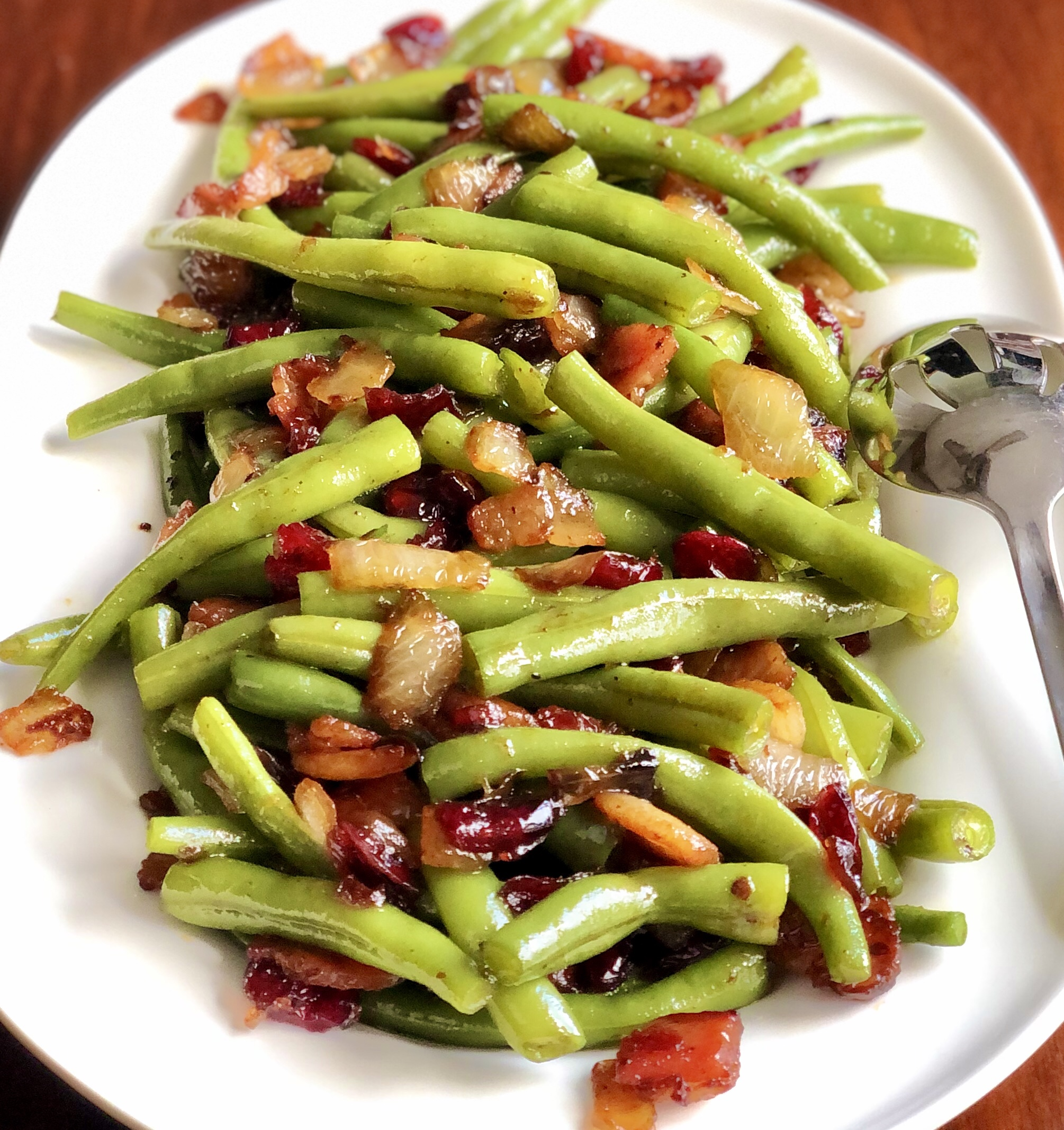 Tennessee Apple Maple Glazed Green Beans