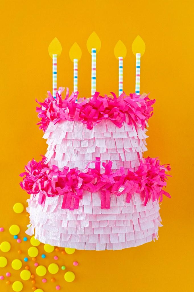 Phenomenal Birthday Cake Pinata Diy Happy Life Tees Funny Birthday Cards Online Alyptdamsfinfo