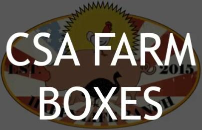 CSA Farm Boxes