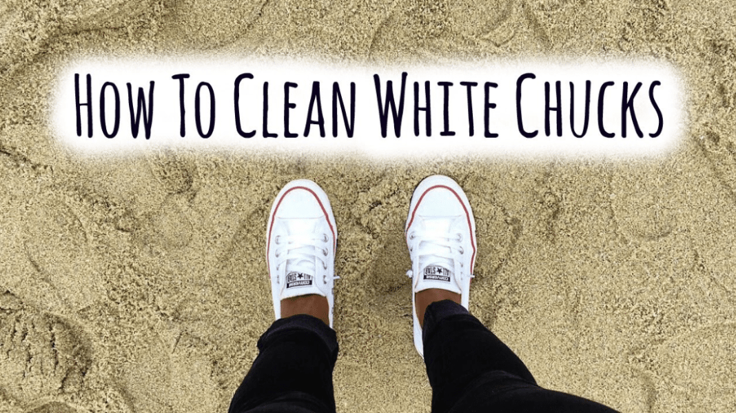 Easy Ways to Clean White Converse