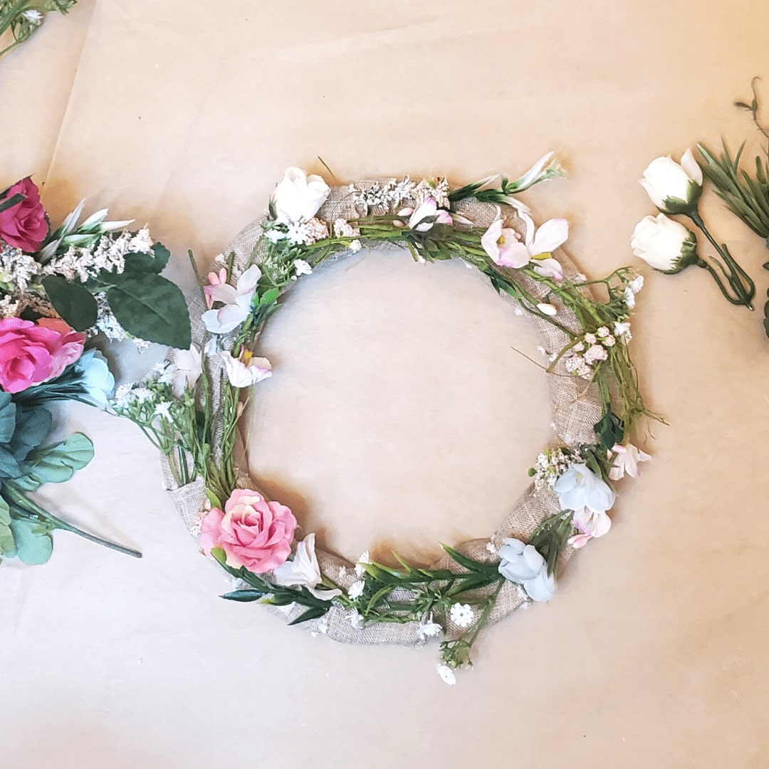 picture of flower wreath