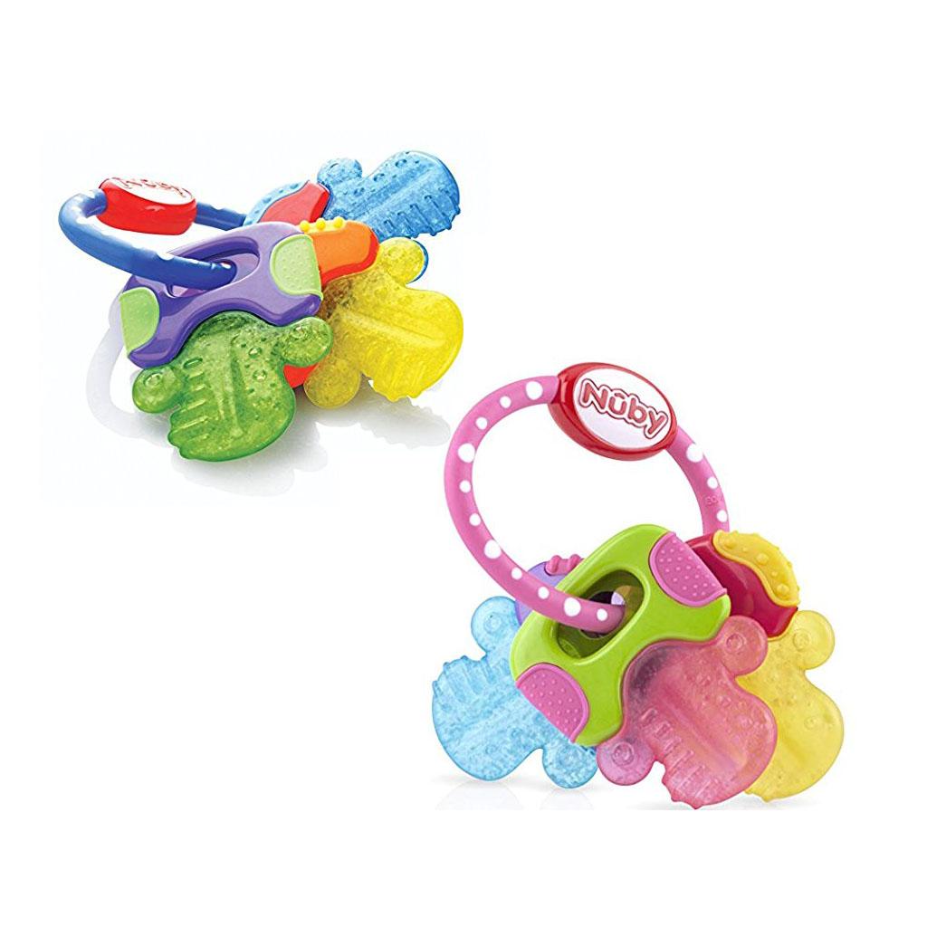 Nuby Ice Gel Teether Keys Baby Teethers