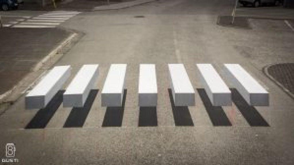 3D přechody pro chodce
