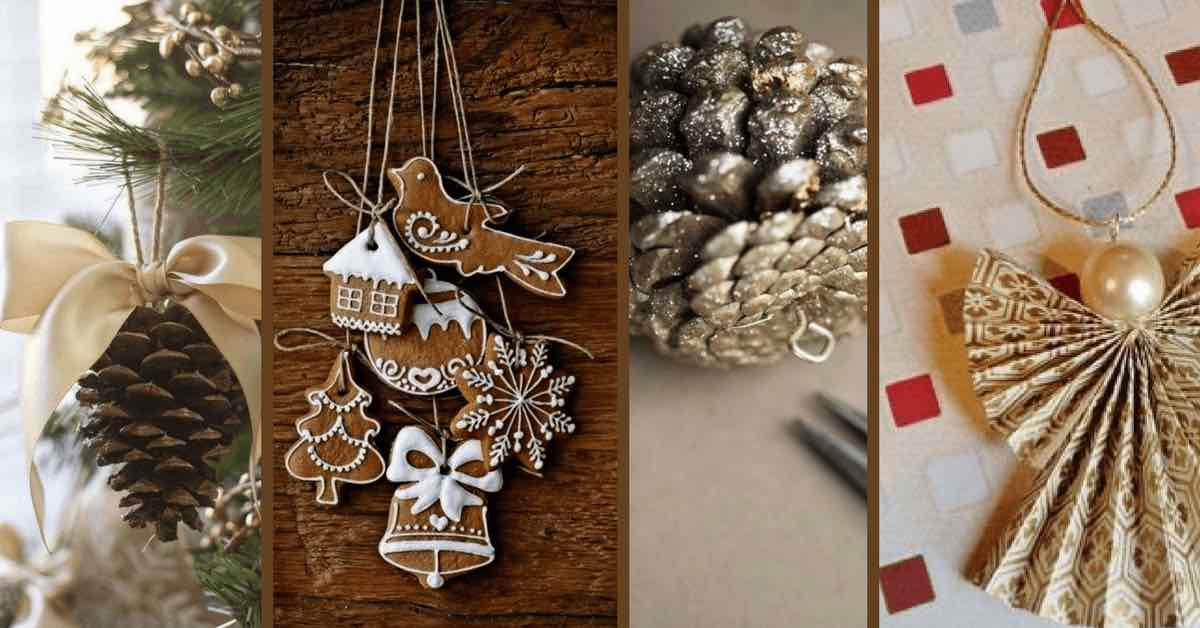 15 nápadů na vlastnoručně vyrobené vánoční ozdoby, které musíte vyzkoušet
