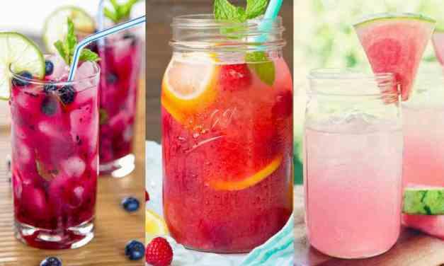 6 osvěžujících drinků, které v létě potřebujete ochutnat