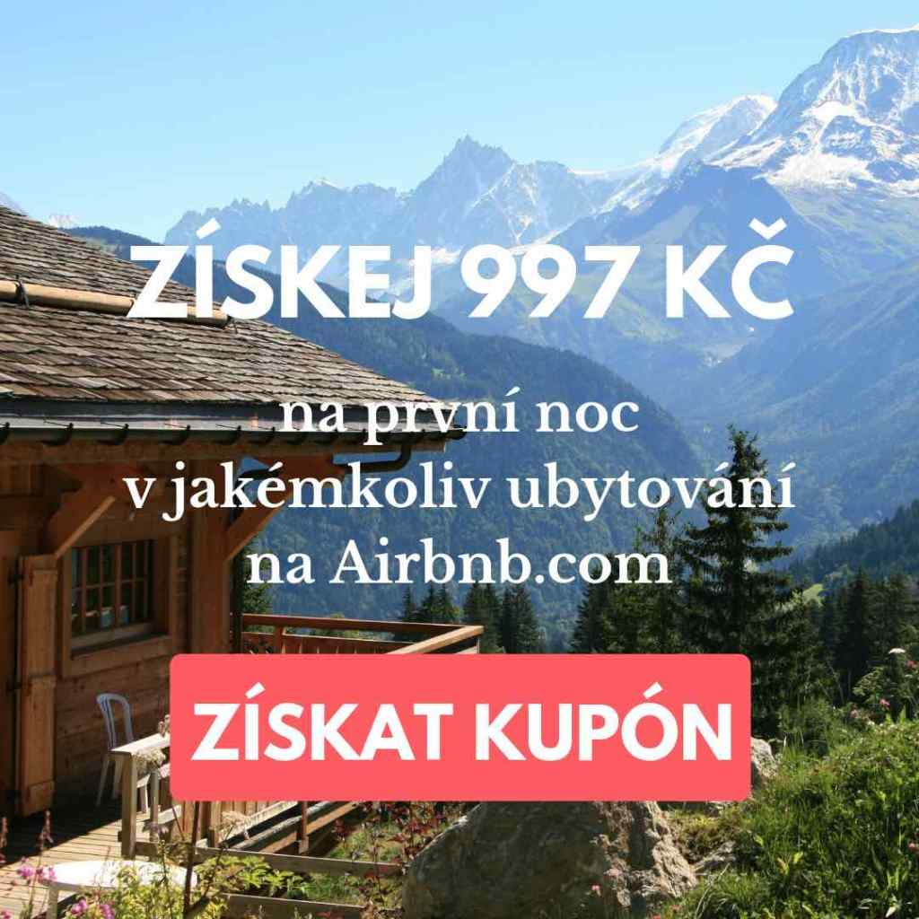 airbnb sleva hory