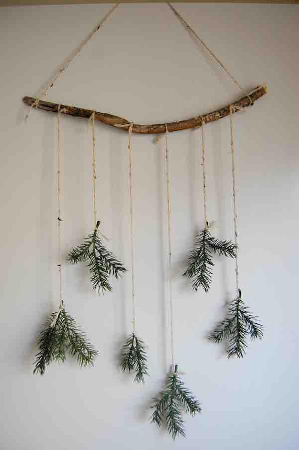 vlastnoručně vyrobené vánoční ozdoby