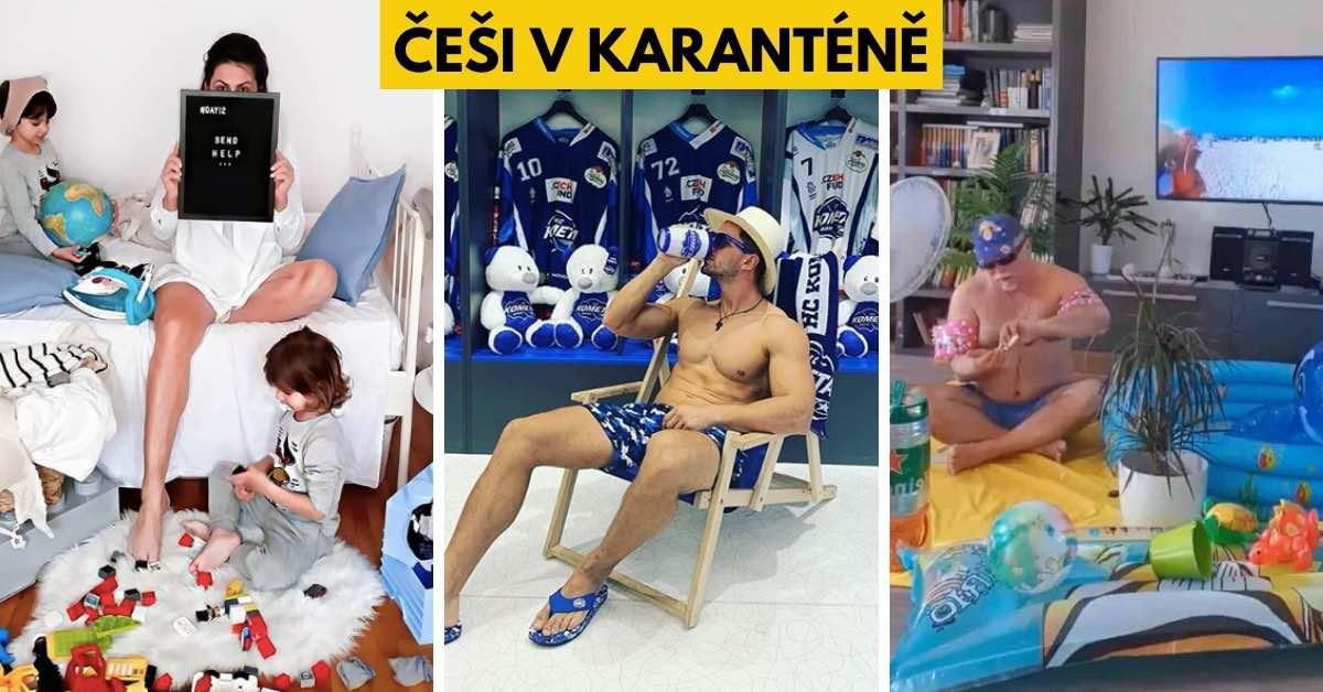 Karanténuje celé Česko: 16 bláznivých věcí, které teď dělají z nudy Češi doma