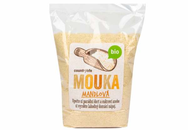 makronky recept mandlová mouka