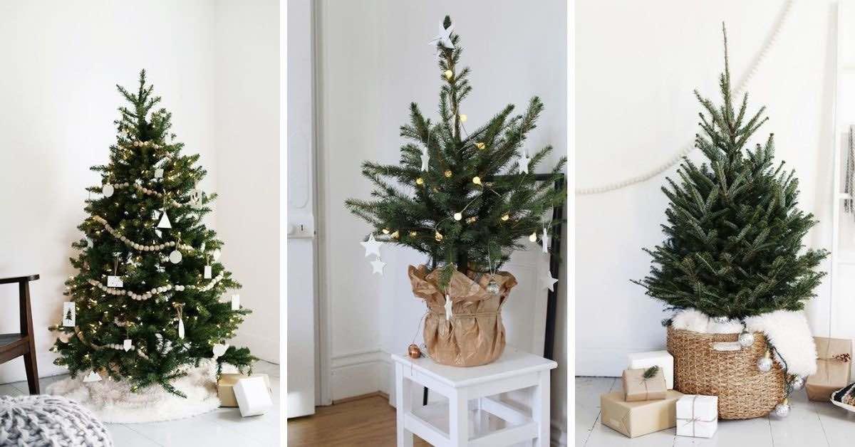 5 úžasných tipů na minimalistický vánoční stromeček