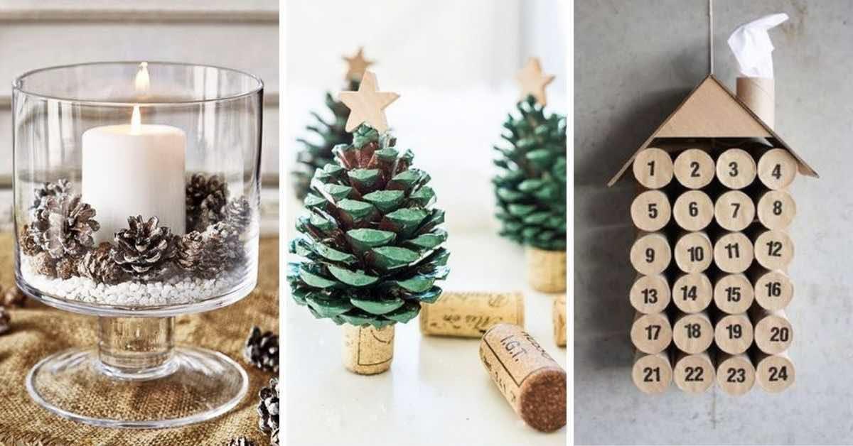 20 nápadů na vlastnoručně vyrobené vánoční ozdoby, které musíte vyzkoušet