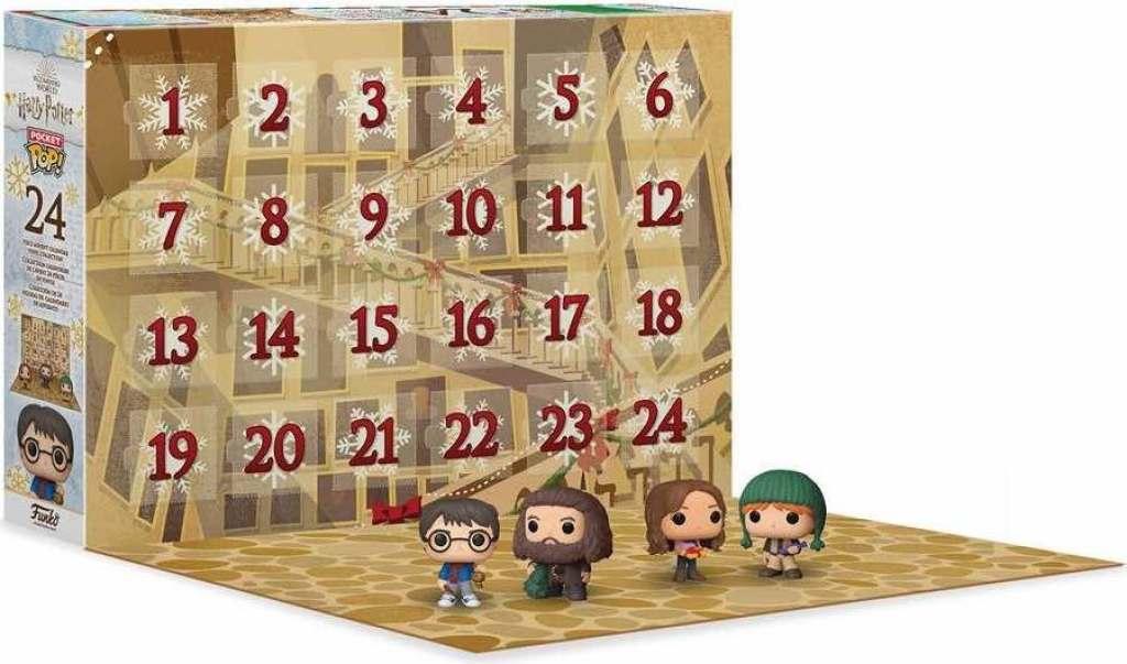 vlastnoručně vyrobený adventní kalendář