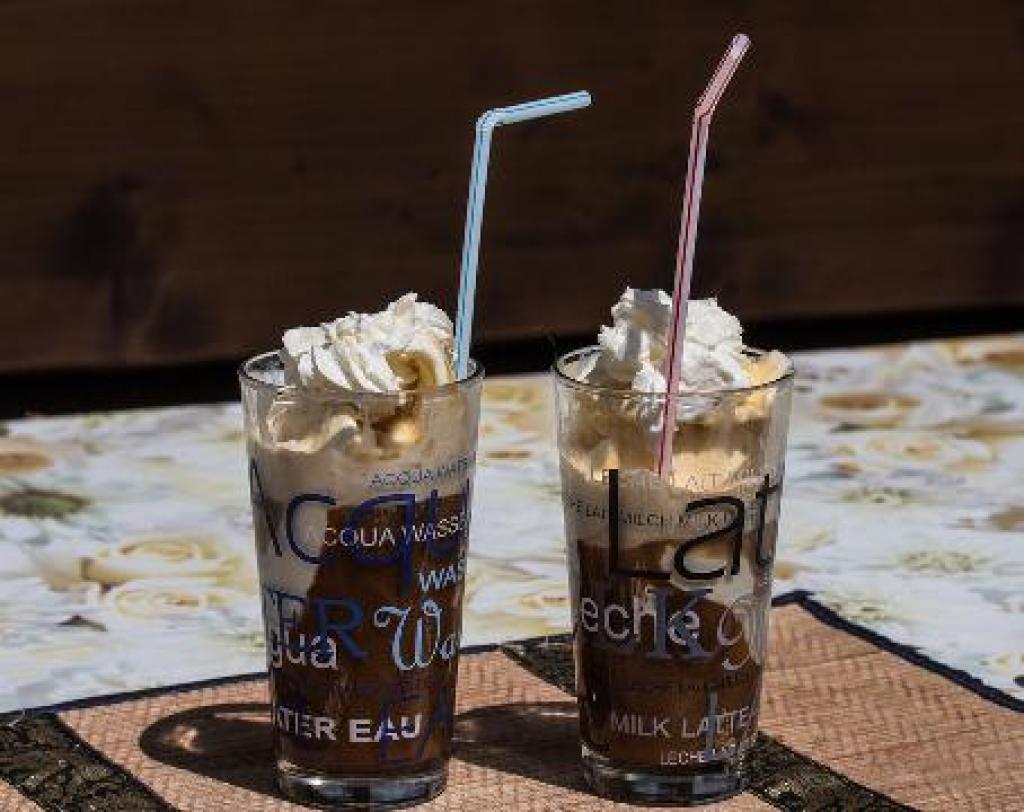 jak udělat ledovou kávu