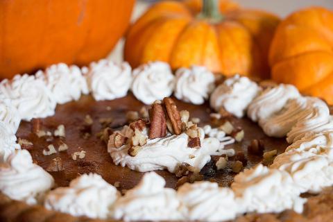 Upečte si podzimní dýňový koláč