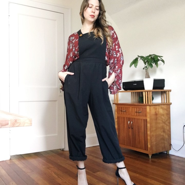women's overall sewing pattern