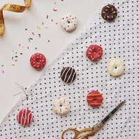 How To: Donut Pattern Weights Using Polymer Clay