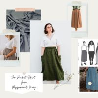 The Peppermint Pocket Skirt Outfit Mood Boards + A New Way To Plan Your Me-Made Projects!