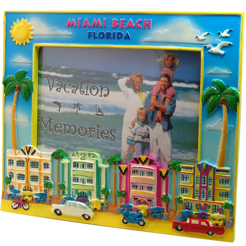 Miami Souvenir Photo Frame