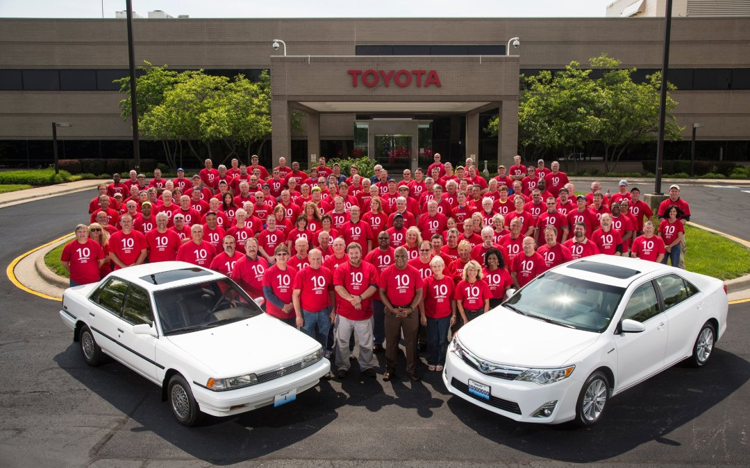 12 ways in which Toyota create a great workplace