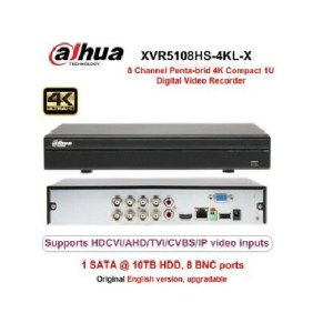 Dahua-XVR5108HS-4KL-X-8-Chanel-4K-Compact-1U-Digital-Video-Recorder –DVR-XVR (1)
