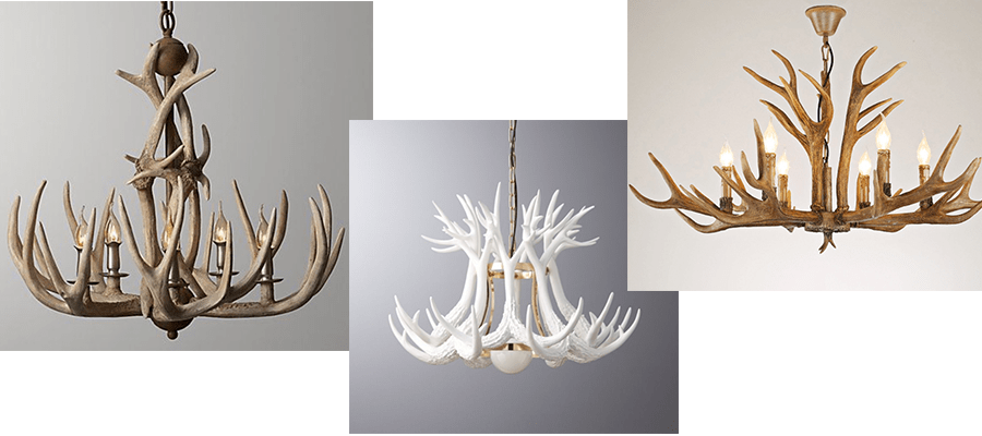 antlers lights back in fashion for the home