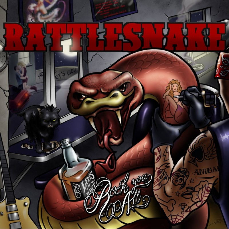 """ALBUM REVIEW: RATTLESNAKE Want To """"Rock You All"""" – Happy"""