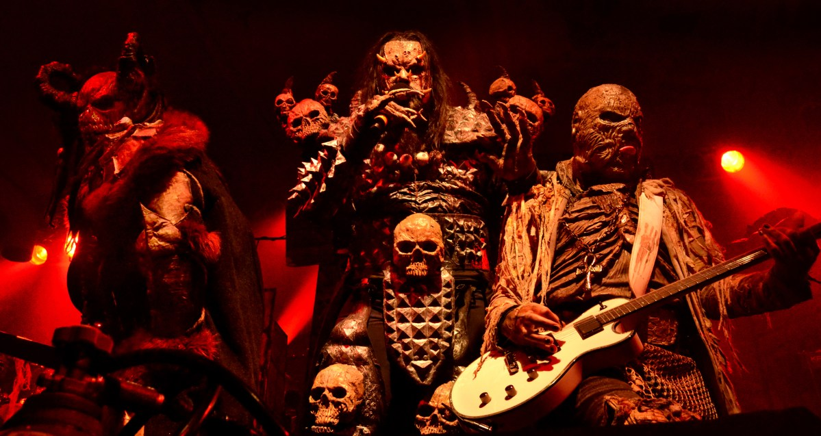 Lordi release Recordead Live - Sextourcism in Z7 - 60 Minutes With