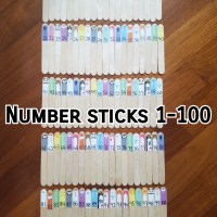 New Product - Number sticks 1-100 busy bag - HKD60