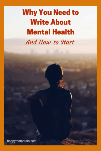 writing about mental health