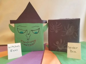 Witch and Spider Sensory Boxes