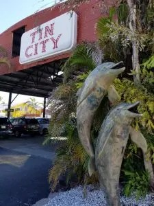Tin City a fun place to shop and eat in Naples florida